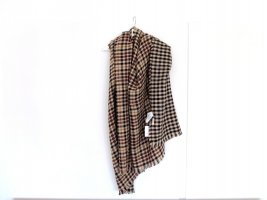 Neuer Pull&Bear Schal in beige braun schwarz rot XXL checked kariert Wendeschal