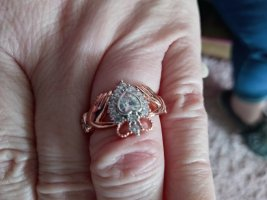 Gouden ring roségoud