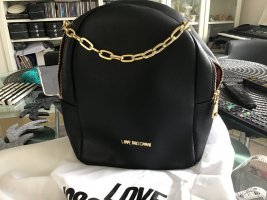 Love Moschino Zainetto nero-rosa