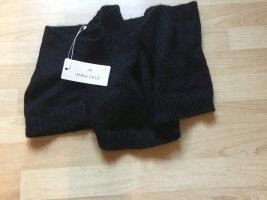 Anna Field Sciarpone nero-grigio chiaro