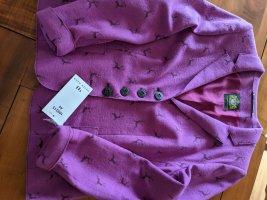 Hammerschmid Wool Blazer lilac-blue violet