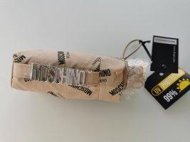 Moschino Milano Folding Umbrella beige