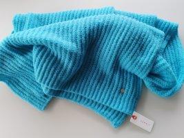 Esprit Bufanda de punto azul claro-turquesa