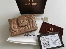 Aigner Wallet multicolored leather