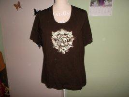 neues braunes t-shirt,44/46