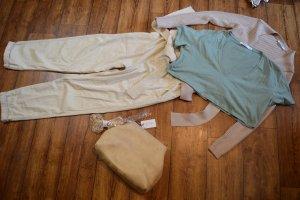 Nakd Cropped Shirt lime-green-sage green
