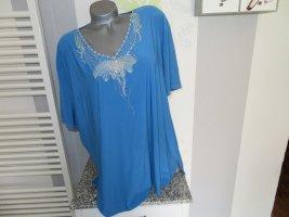 Daniel Valentin T-Shirt blue polyester