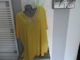 Daniel Valentin T-Shirt yellow polyester