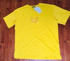 neues Damen Shirt von Frapp, sonnen gelb, Größe 44, kurzarm, Rundhalsausschnitt