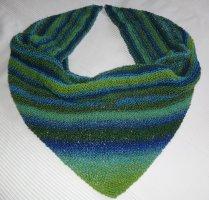 Bufanda de punto multicolor Lana
