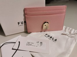 Furla Custodie portacarte rosa pallido