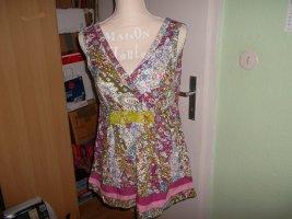 neues hängerchen/bluse,von joe browns,gr. 38,ärmellos,bunt