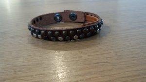 Cowboysbelt Leather Bracelet brown leather