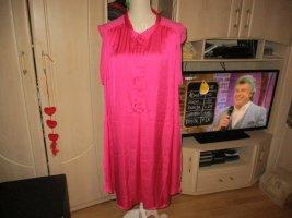 neues schickes kleid,glänzendes pink,ärmellos,grösse 54,h&m