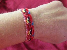 Friendship Bracelet red cotton