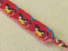 Bracelet brésilien rouge coton