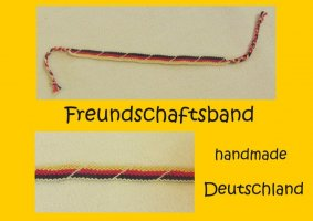 Friendship Bracelet multicolored cotton