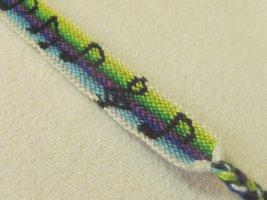 Friendship Bracelet black cotton
