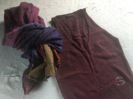 Neues ungetragenes Wolltop von Sisley, Gr. S, Strasssteine