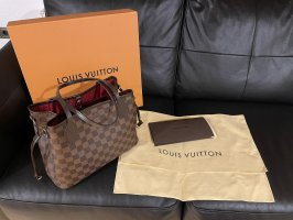 Louis Vuitton Draagtas bruin Leer