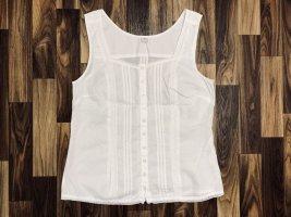 Neuwertig Bluse Top Shirt Spitze Weiß Größe M S. Oliver Knöpfe Neu 29,99€