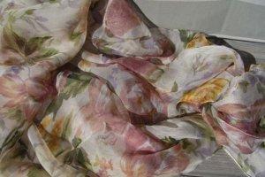 neuwertig #Chiffon-Tuch, 110x110 wunderschön