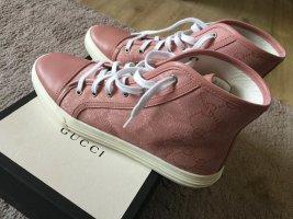 Neuwertig Gucci Sneaker Schuhe Rosa Pink Soft Gr.39-40