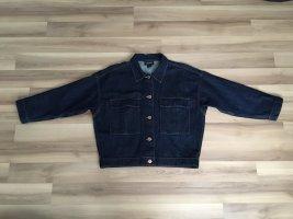 Neuwertig: Kastige Oversized Jeansjacke Monki XS dunkle Waschung Blogger