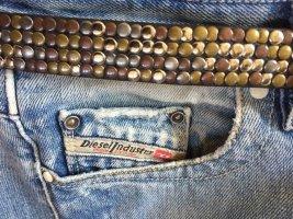 Pepe Jeans Cintura di pelle multicolore Pelle