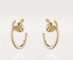 Cartier Gouden oorbellen donkergeel