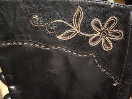 NEUwertige coole schwarze Lederstiefel Konstantin Starke New York, Gr 42.
