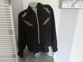 Neuwertige Damen Vintage Blusen Jacke Größe L von Emark (Nr1657)