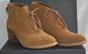 Neuwertige echt Leder Ankle Boots