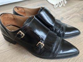 Neuwertige LEDER Schuhe v.Massimo Dutti * Gr. 40