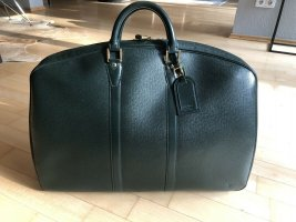 Louis Vuitton Weekender Bag forest green leather