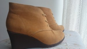 Jessy Ross Wedge Booties multicolored