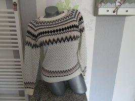 Norweski sweter Wielokolorowy
