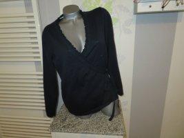 Donna Lane Fine Knit Jumper dark blue cotton