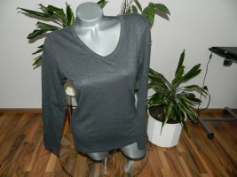 Neuwertiges Damen Basic langarm Shirt Größe M (739)