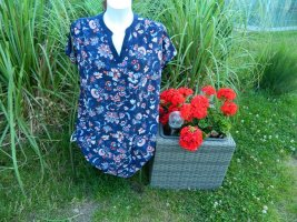 Yessica Blouse topje donkerblauw