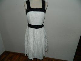 Neuwertiges Damen Cocktail Kleid Leinen Größe 36 von Orsay (Nr762)