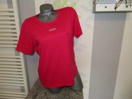 Clarina T-Shirt raspberry-red viscose