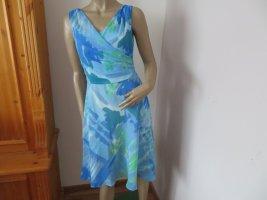 Comma Letnia sukienka Wielokolorowy