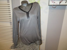 body essentials by tchibo Shirt Tunic grey viscose