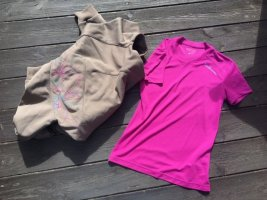 Neuwertiges Funktionsshirt von Salomon, Gr. Small, Think Pink :)