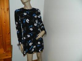 Neuwertiges leichtes Damen long Bluse Kleidchen Größe S von Mango (Nr282)