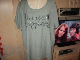 Gina Benotti T-Shirt petrol cotton