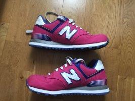 New Balance 574 pink weiß Sneaker Größe 38 WL574APL