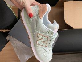 New Balance Zapatillas con tacón menta-verde claro