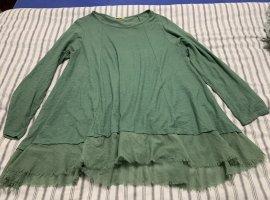 new collection Lange jumper groen